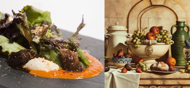 Retratos de comida - Restaurante Juana La Loca